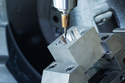 5-Axis hard milling
